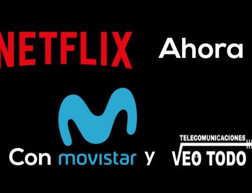 Netflix contratando Movistar fusión