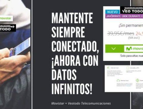 Datos infinitos Movistar